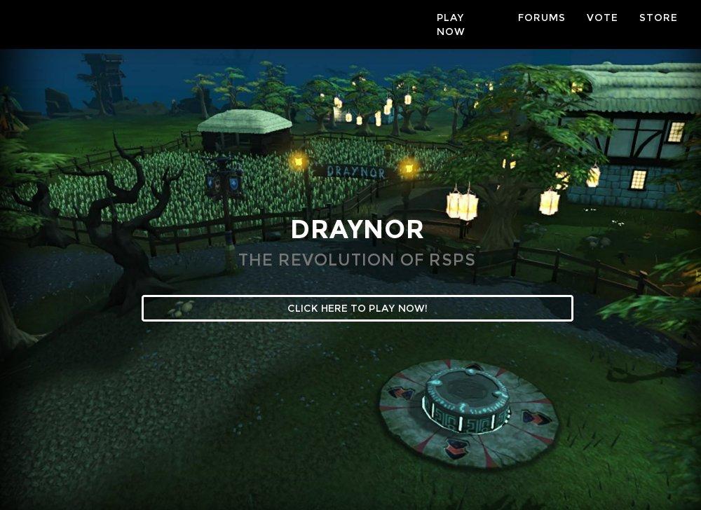 Draynor - OSRS w Raids Inferno - RSPS List - RuneScape