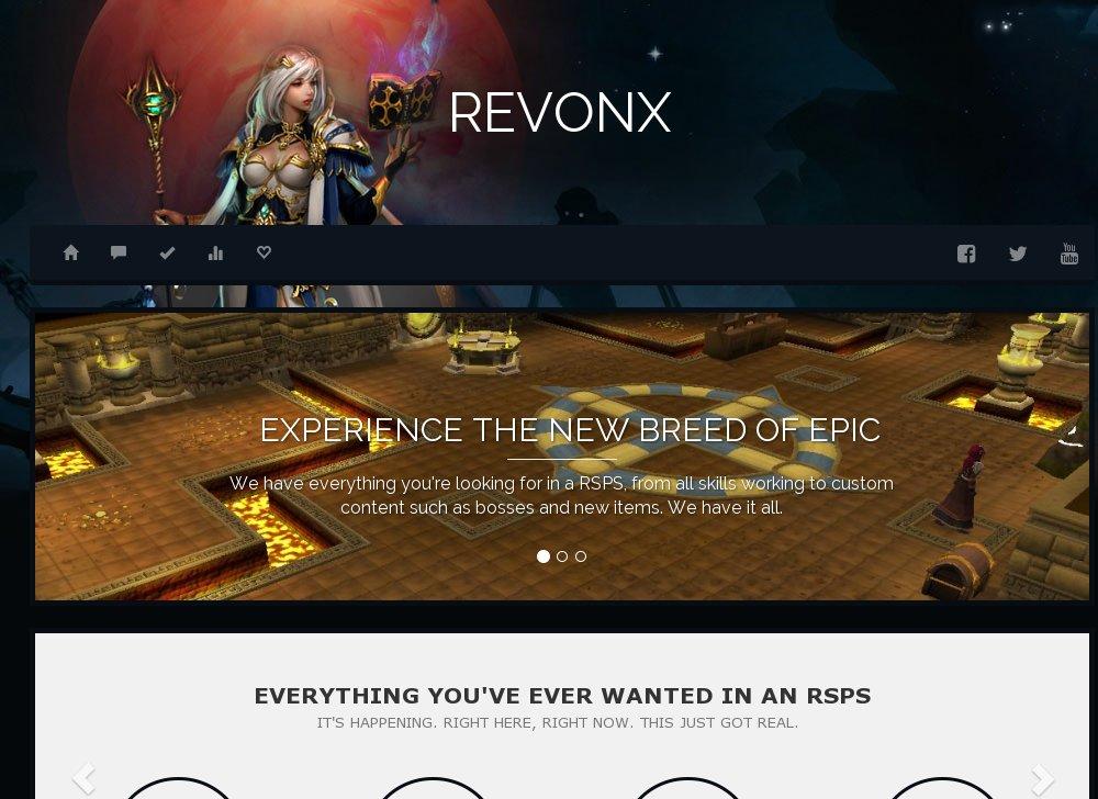 ⚔️ RevonX HD - Community Comes First | Bossing | Economy