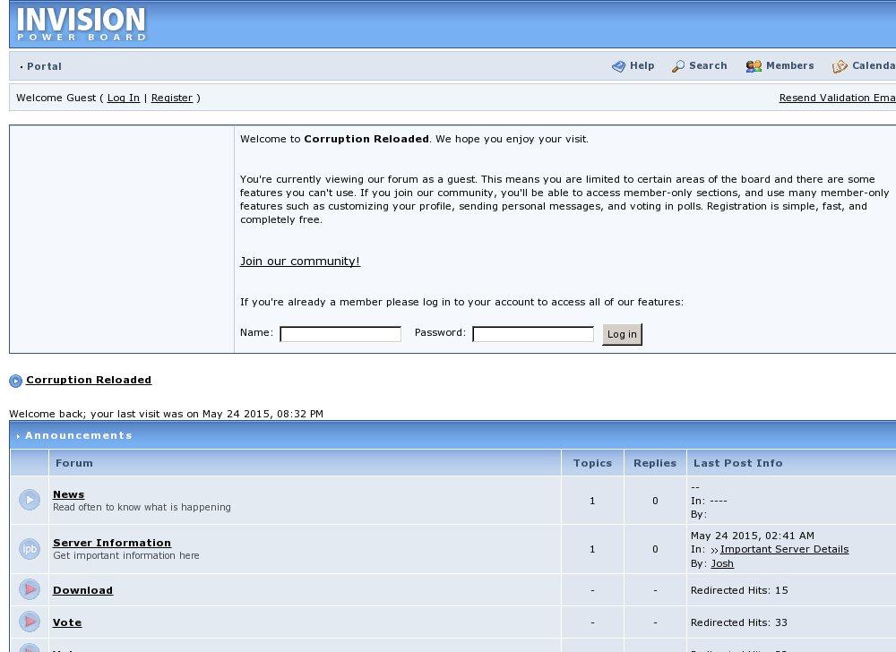 Corruption Reloaded - RSPS List - RuneScape Private Servers