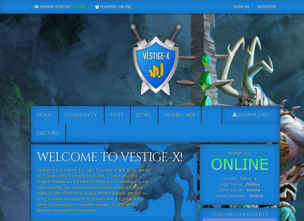 Runescape Account Database