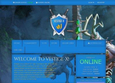 Vestige-x OSRS Customs Community Driven Experience - RSPS