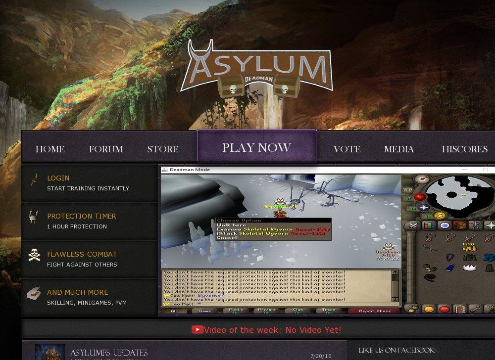 DMM-ASYLUM - RSPS List - RuneScape Private Servers