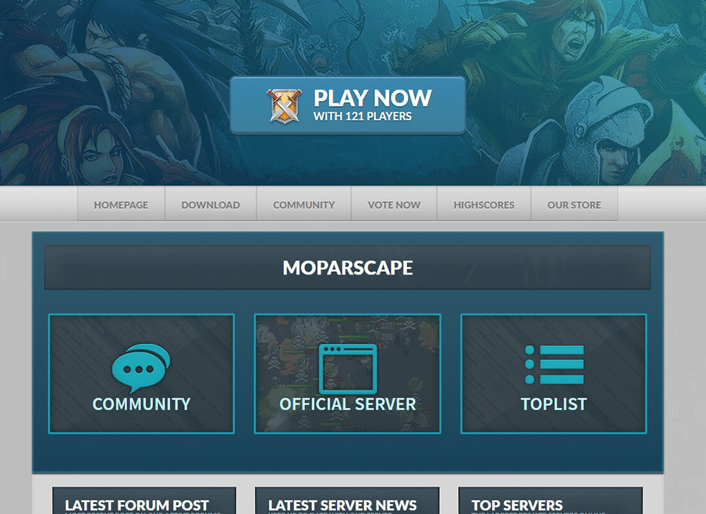 Runescape Private Servers - Moparscape RSPS