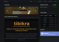 Tibikra - Small community server with great features for chilling.